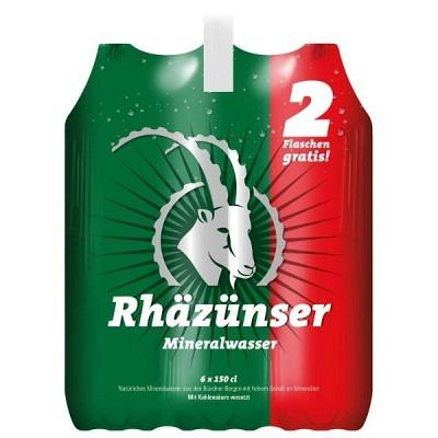 Rhäzünser EW 4x150 cl 2 Flaschen gratis