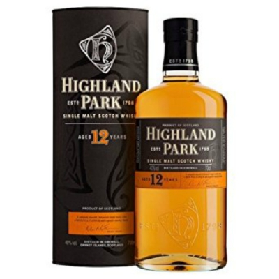 Highland ParkSingle Malt 12 yars 70 cl