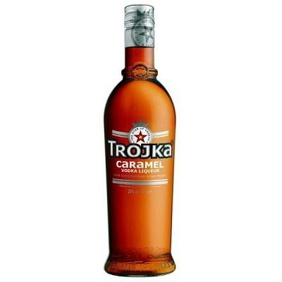 Trojka Caramel 70 cl Vodka Liqueur