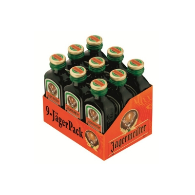Jägermeister 9er Pack 2 cl