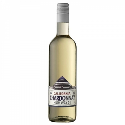 Chardonnay California High Way 50 cl