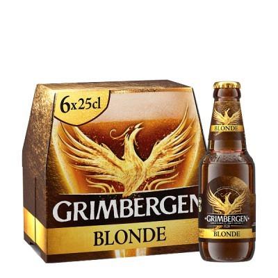 Grimbergen Blonde EW 6x25 cl