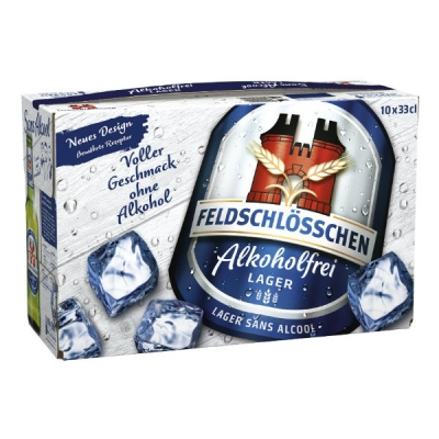 Feldschlösschen Alkoholfrei EW 10x33 cl