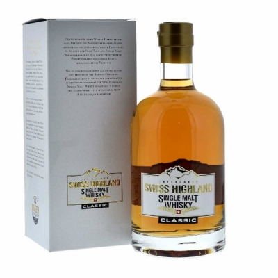 Swiss Highland Single Malt Whisky 70 cl