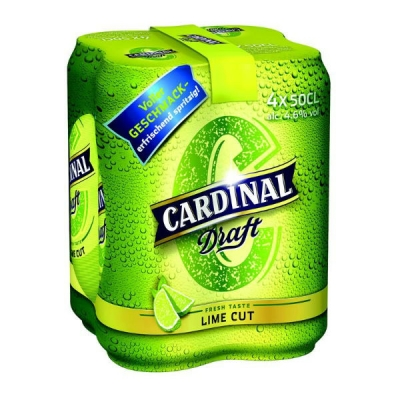 Cardinal Draft Lime Cut Dosen 50 cl
