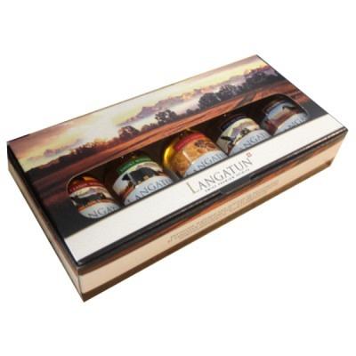 Langatun Geschenkbox 5x5 cl