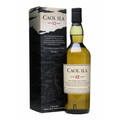 Caol Ila  70 cl Whisky, 12 years
