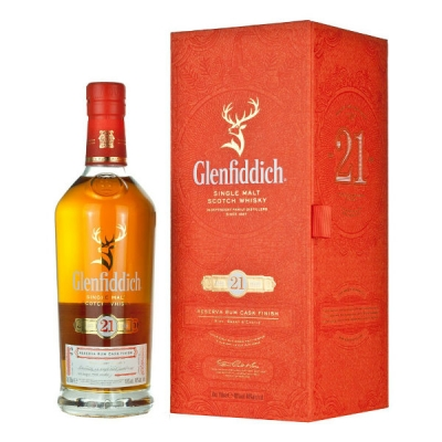 Glenfiddich Single Malt Scotch Whisky  R..