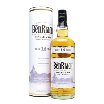Benriach 16 yo, Speyside, 70 cl Single M..