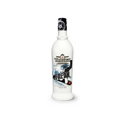 Trojka White Cream 70 cl Vodka Liqueur