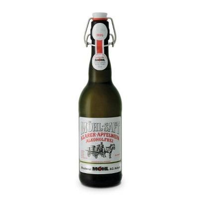 Möhl Saft klar alkoholfrei Bügel MW 50 cl