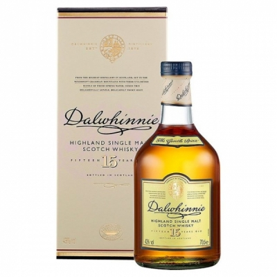 Dalwhinnie Malt Whisky,15 years, 70 cl