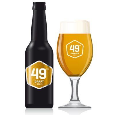 49 Draft  Beer EW 8x33 cl