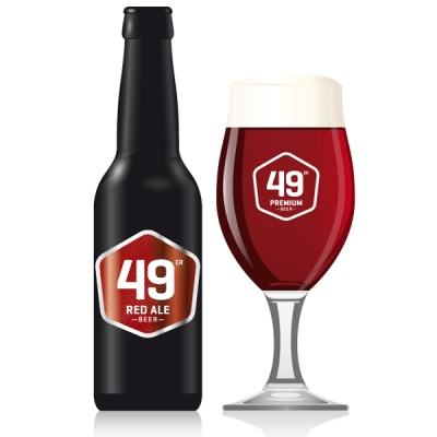 49 Red Ale Beer EW 8x33 cl
