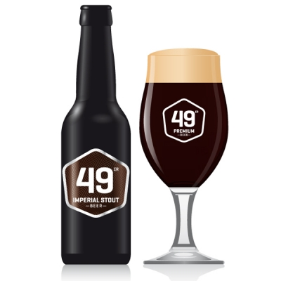 49 Imperial Stout EW 20x33 cl
