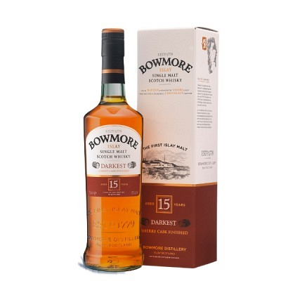 Bowmore 15 y Darkest