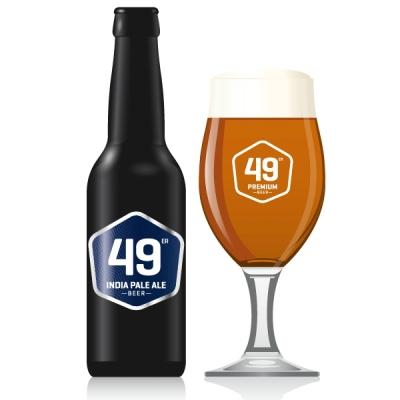 49 India Pale Ale EW 20x33 cl