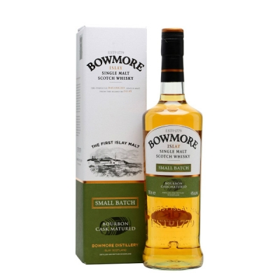 Bowmore Small Batch,  70 cl Bourbon Cask..