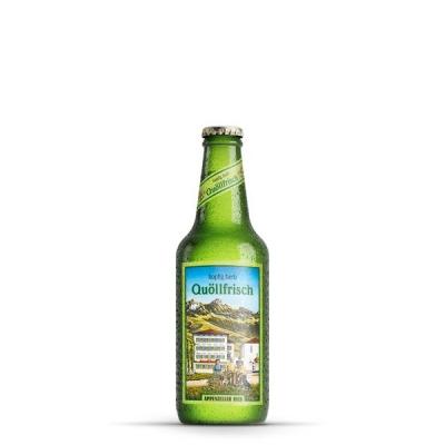 Appenzeller Bier Quöllfrisch hopfig herb..