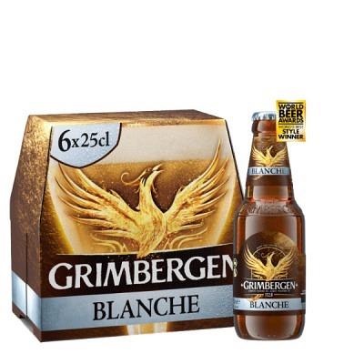 Grimbergen Blanche EW 6x25 cl