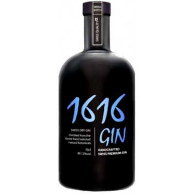 Gin 1616 Swiss Dry Gin 70 cl