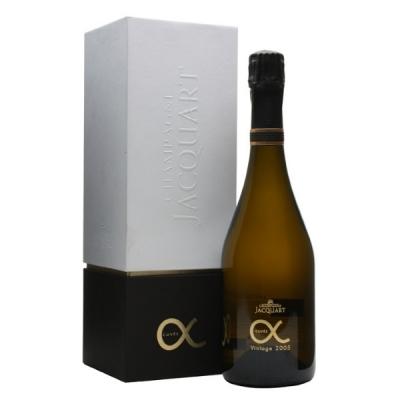Champagne Jacquart Cuvée Alpha Coffret