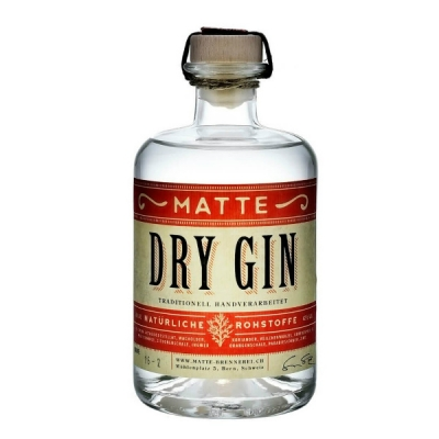 Matte Dry Gin 50 cl