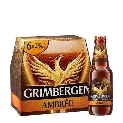 Grimbergen Ambrée EW 6x25 cl