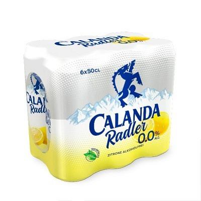 Calanda Radler 0.0% Dosen 6x50 cl