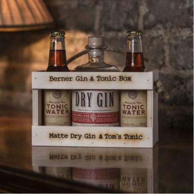 Berner Gin & Tonic  Holz Kischtli, 50 cl