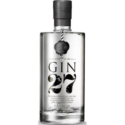 Gin 27 Gin-Stengeli 5 Tonic Geschenkverp..
