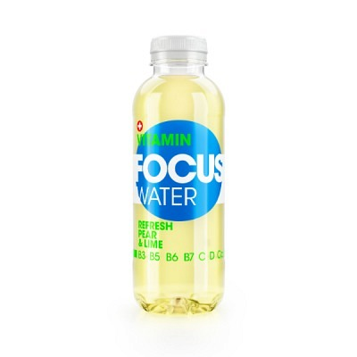 Focuswater Birne & Limette EW 6x50 cl