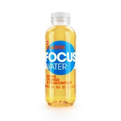 Focuswater Orange & Dragenfruit EW 6x50 cl
