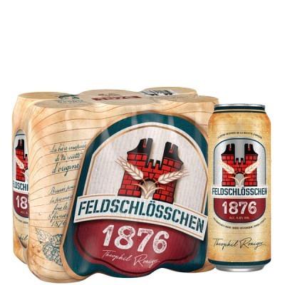 Feldschlösschen 1876 Dosen 50 cl