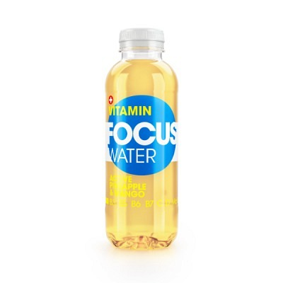 Focuswater Ananas & Mango EW 50 cl