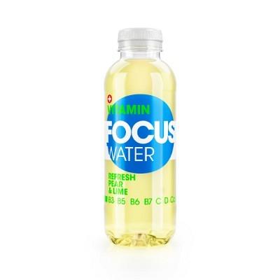 Focuswater Birne & Limette EW 50 cl