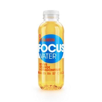 Focuswater Orange & Dragenfruit EW 50 cl