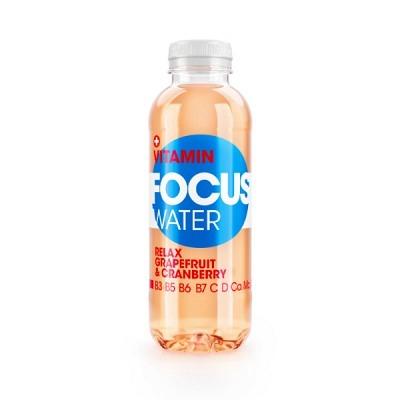 Focuswater Grapefruit & Cranberry EW 50 cl