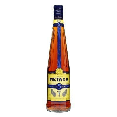 Metaxa 5 Stern Greek Brandy 70 cl