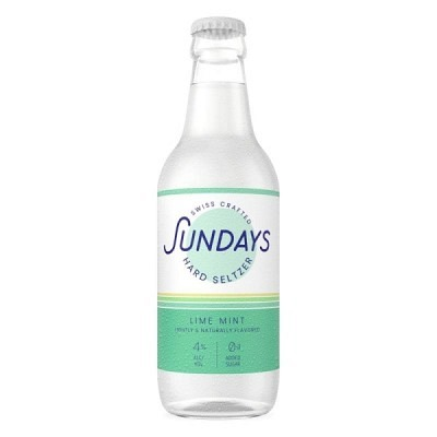 Sundays Lime Mint Hard Seltzer 33 cl