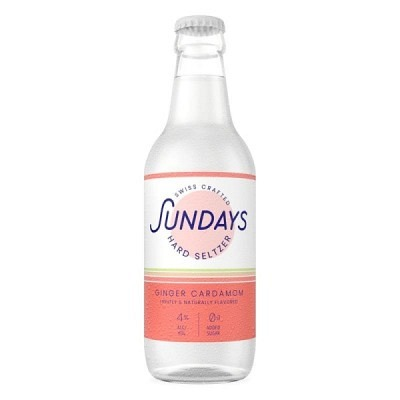Sundays Ginger Cardamom Hard Seltzer 33 cl