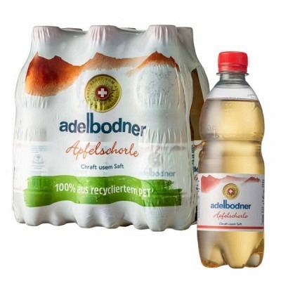 Adelbodner Apfelschorle EW 6x50 cl