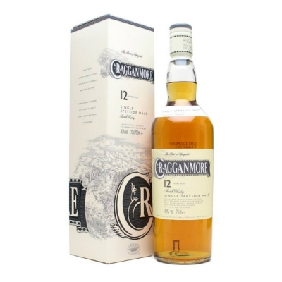 Cragganmore Malt 70 cl Whisky, 12 years