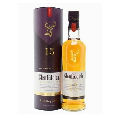 Glenfiddich Solera Cask 15 y,70 cl Gesch..