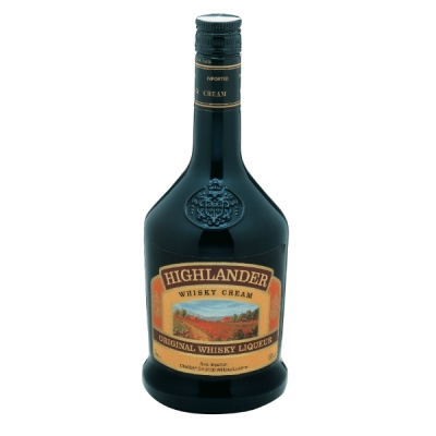 Highlander Whisky Cream 70 cl