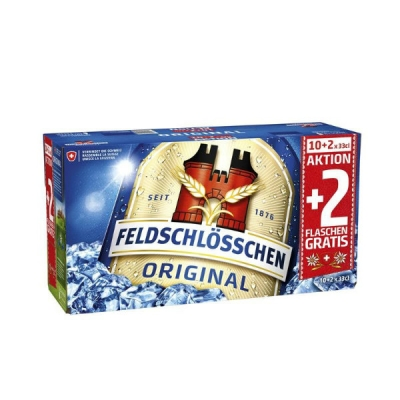Feldschlösschen Original EW 33 cl + 2  Flaschen gratis